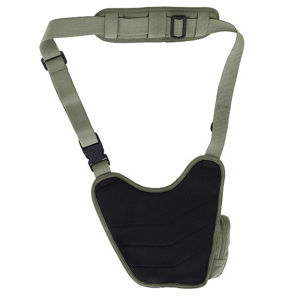 Тактическая сумка Kiwidition Kea черный (Back)