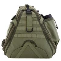 Городской однолямочный рюкзак Maura черный (Back)