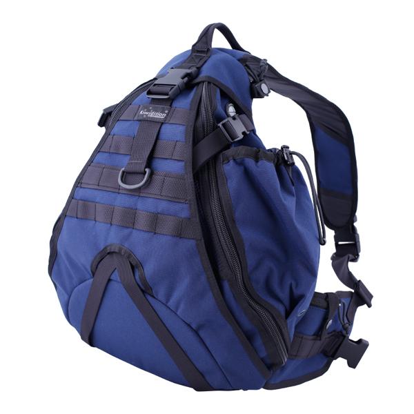 Городской однолямочный рюкзак Maura Синий (DBN)